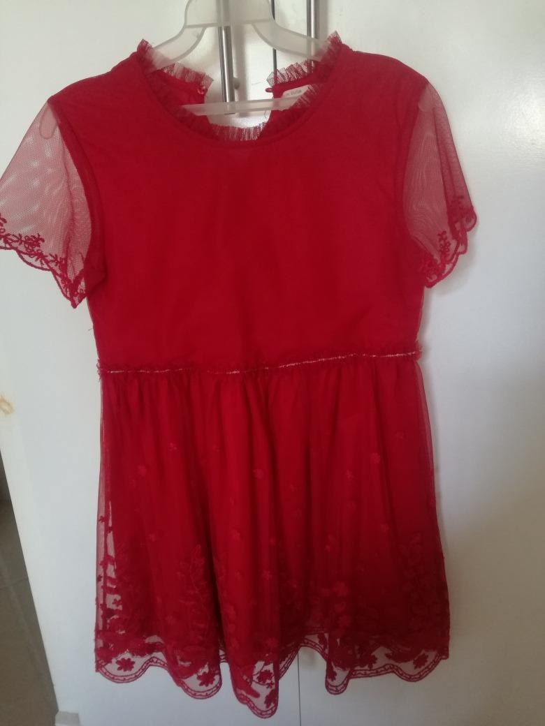 498a5f406 Cargando Color Zara Talla Niña Zoom 910 Rojo Para Vestido qUZz0