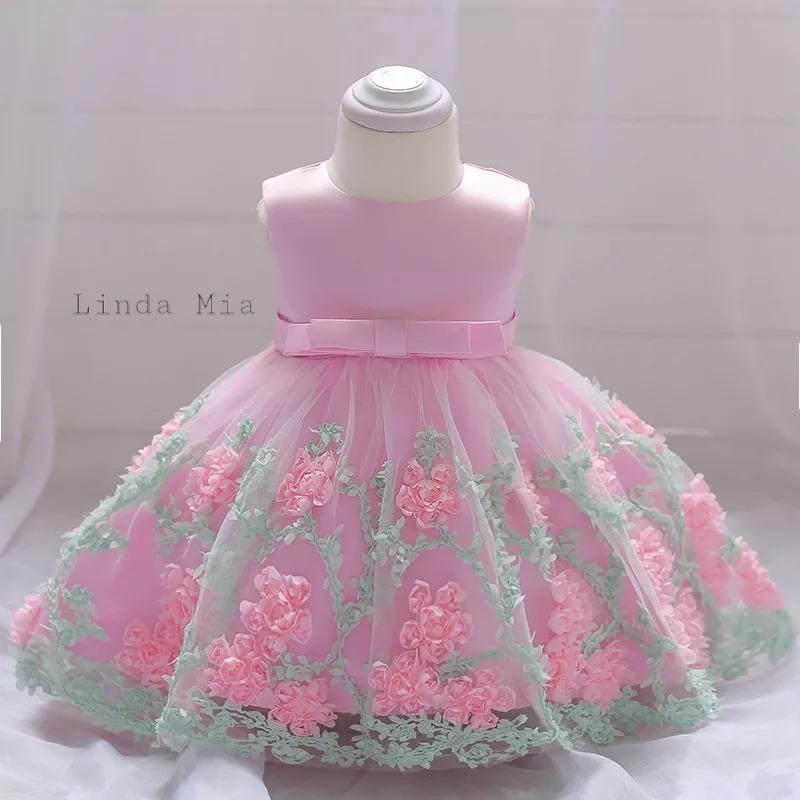 d2dcb5097 Vestido Para Niñas 12 Meses 18 Meses Talla 2 - $ 100.000 en Mercado ...