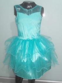 Vestido Para Niñas Bautizo Pajecita Talla 8 Verde Menta