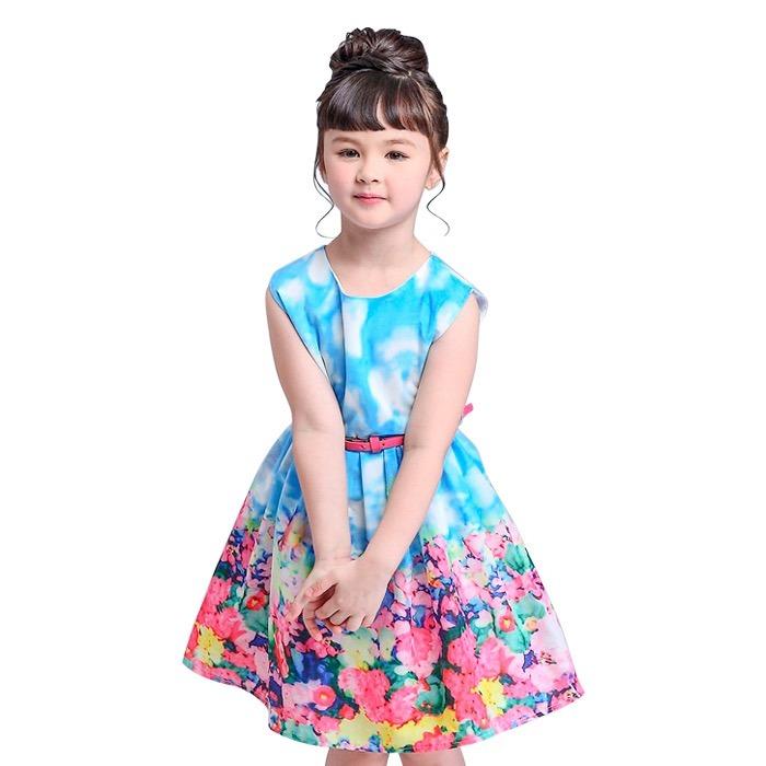 db0adad6e Vestido Para Niñas Diseño Casual De Tutu Princess