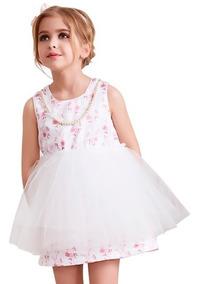 Vestido Mimi Bebe Rosa Vestidos Blanco En Distrito Federal