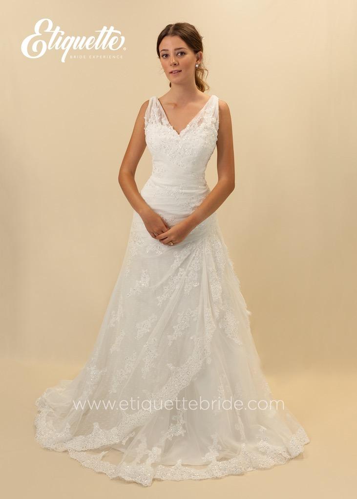 vestido para novia 100% nuevo buen precio boda etiquette
