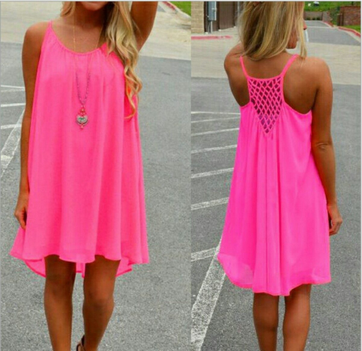 Vestido Para Playa - $ 285.00 en Mercado Libre