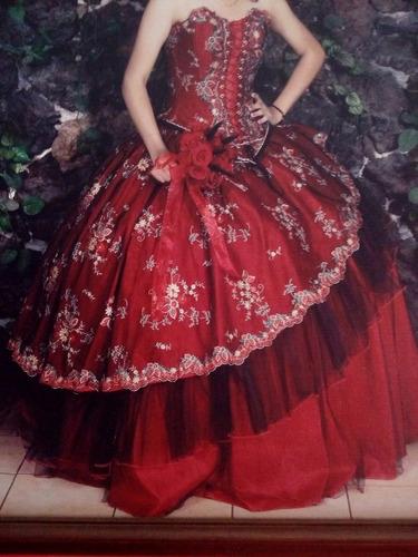 vestido para quinceañera