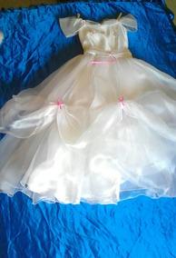 Vestido Para Reina Carnaval Con Capa Para Niña 8 A 10 Años