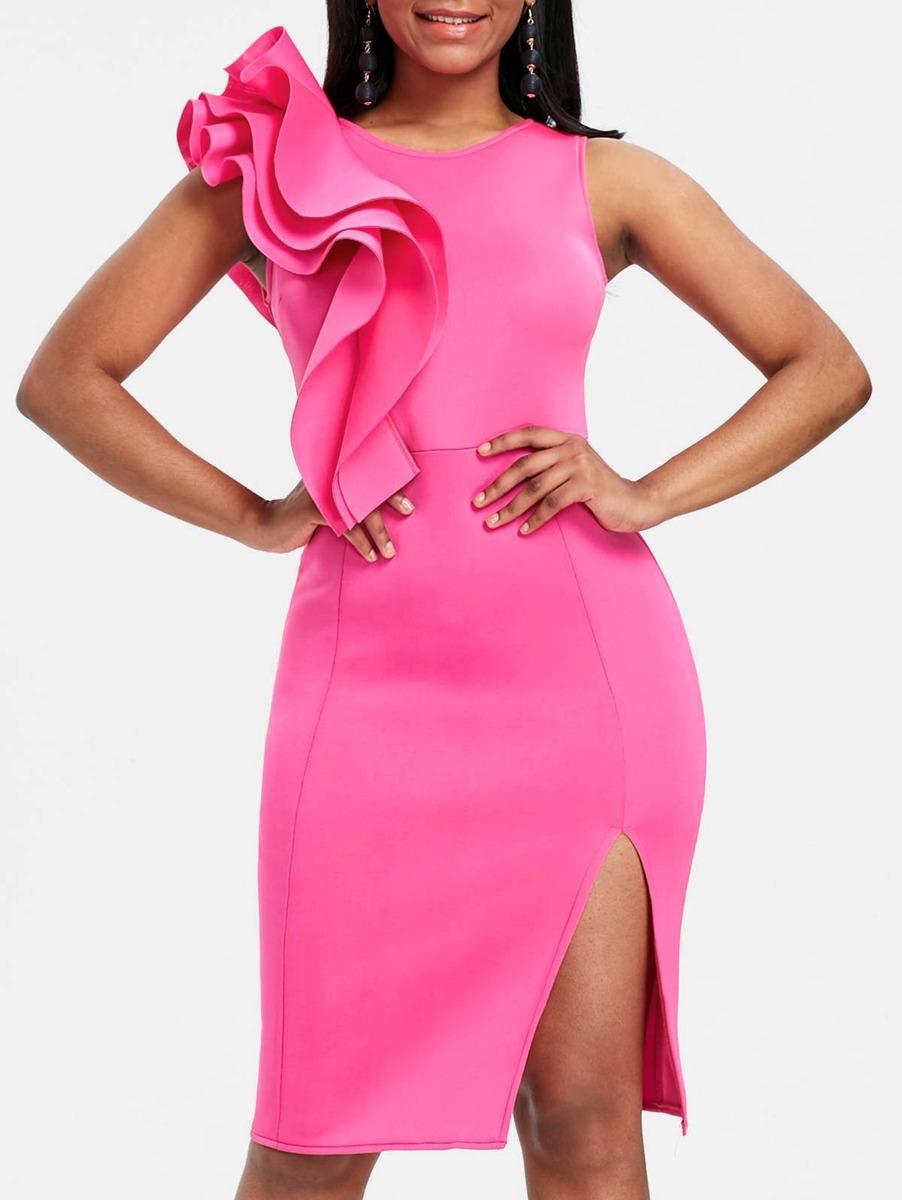Asombroso Vestido De Partido De Elmo Friso - Colección de Vestidos ...