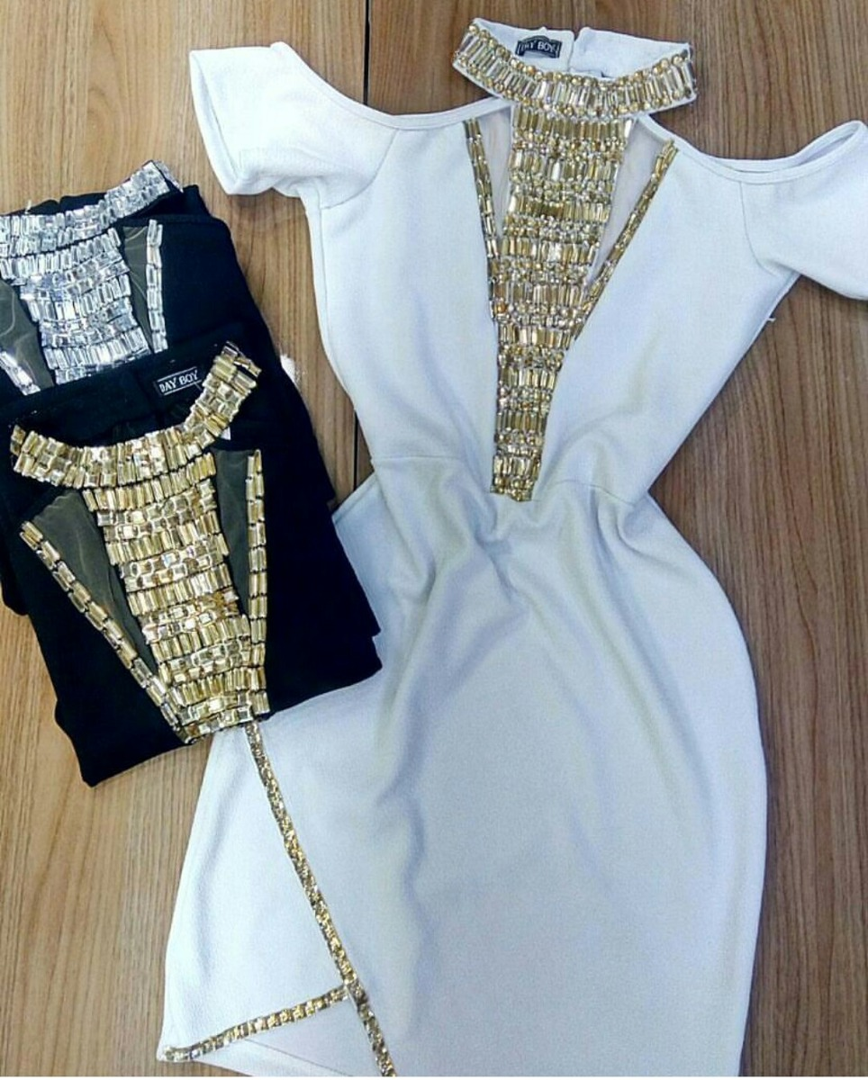 28db37dde vestido pedraria tule bordado plus size modinha só branco. Carregando zoom.