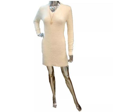 Vestido Pelo Felpudo Maravilhoso Moda Feminina - R  49 88c30620c9bb