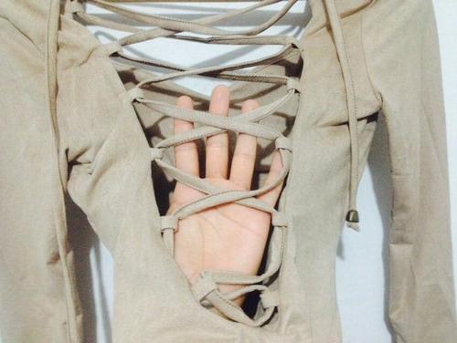 vestido piel de durazno pegado talla standart beige