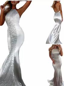 Fiesta Vestidos Largos De Extravagantes Mujer b6gY7yf