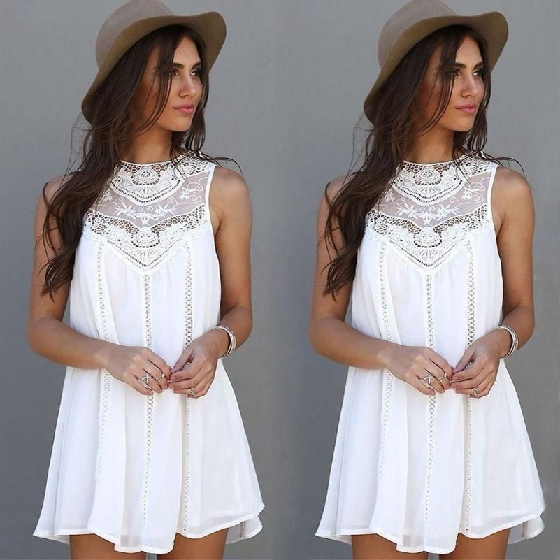 Vestidos blancos para playa bogota