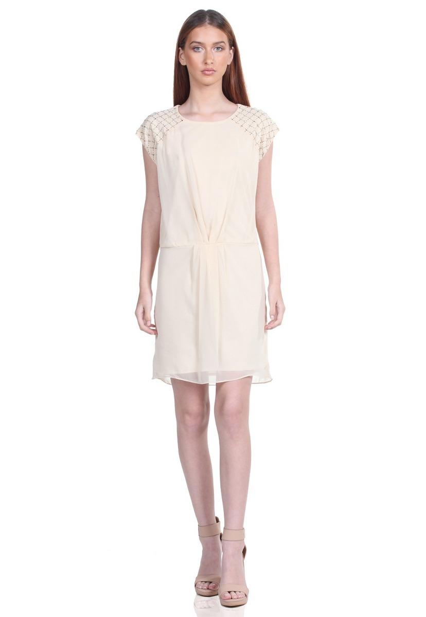 53f10ef89 vestido pliegues en cintura de mujer aishop aw171-h50050c. Cargando zoom.
