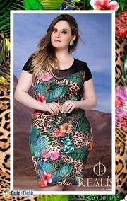 992f13c0d Vestido Realist Tam: 48 - Vestidos Femeninos Curto com o Melhores Preços no  Mercado Livre Brasil