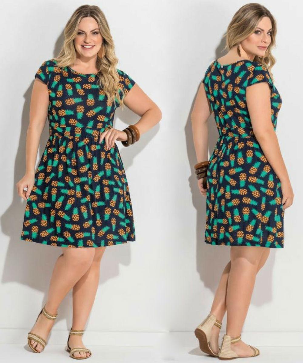 e58da60d0 vestido plus size curto de festa rodado feminino promoção. Carregando zoom.