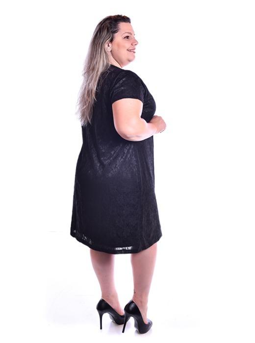 ec21e371c89f Vestido Plus Size De Festa, Preto, Nude, Do 48 Ao 54 - R$ 239,90 em ...