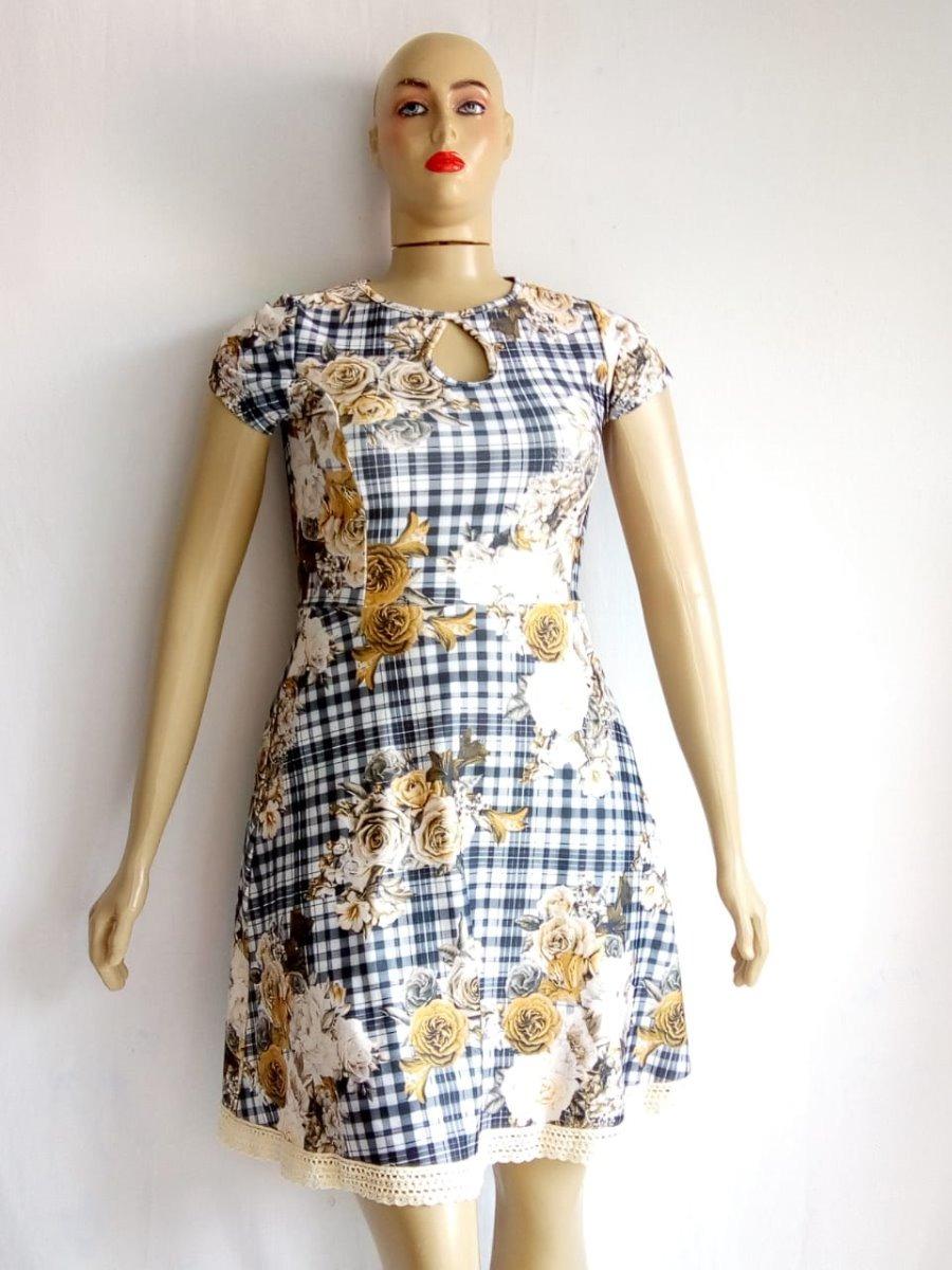 c0bda87167ba vestido plus size moda evangélica casual social feminino. Carregando zoom.