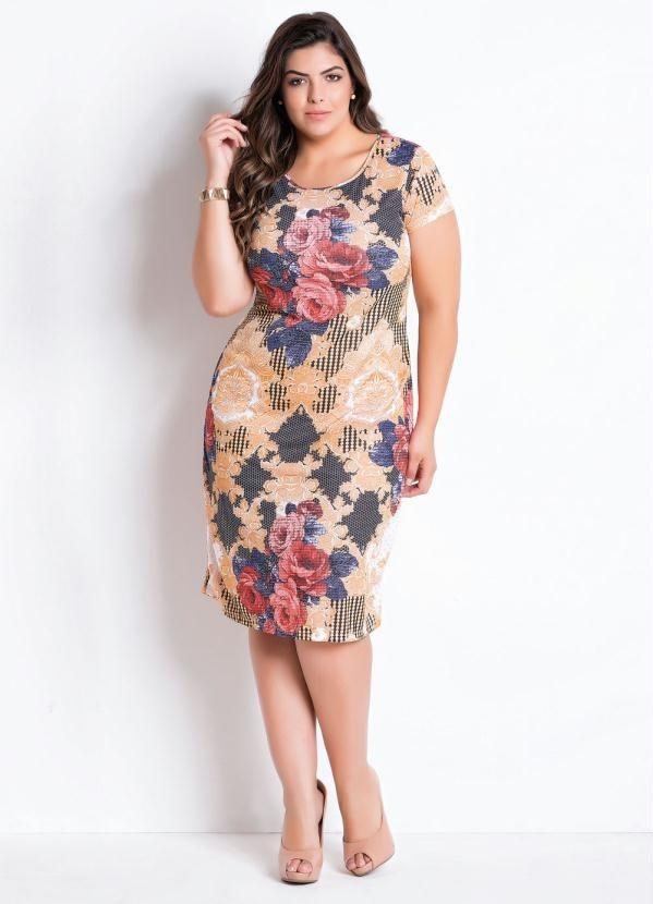 5699019fb0 vestido plus size moda evangélica gordinha roupas femininas. Carregando  zoom.