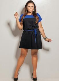 b6139b4c44 Vestido Plus Size Usado - Vestidos Femininas