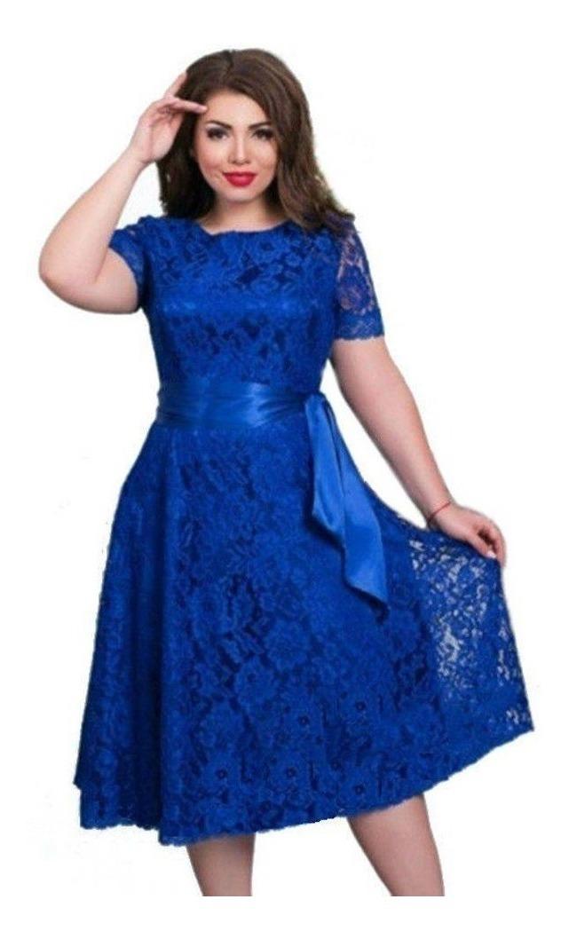 Vestido Plus Size Renda Festa Noiva 26 Formatura Casamento