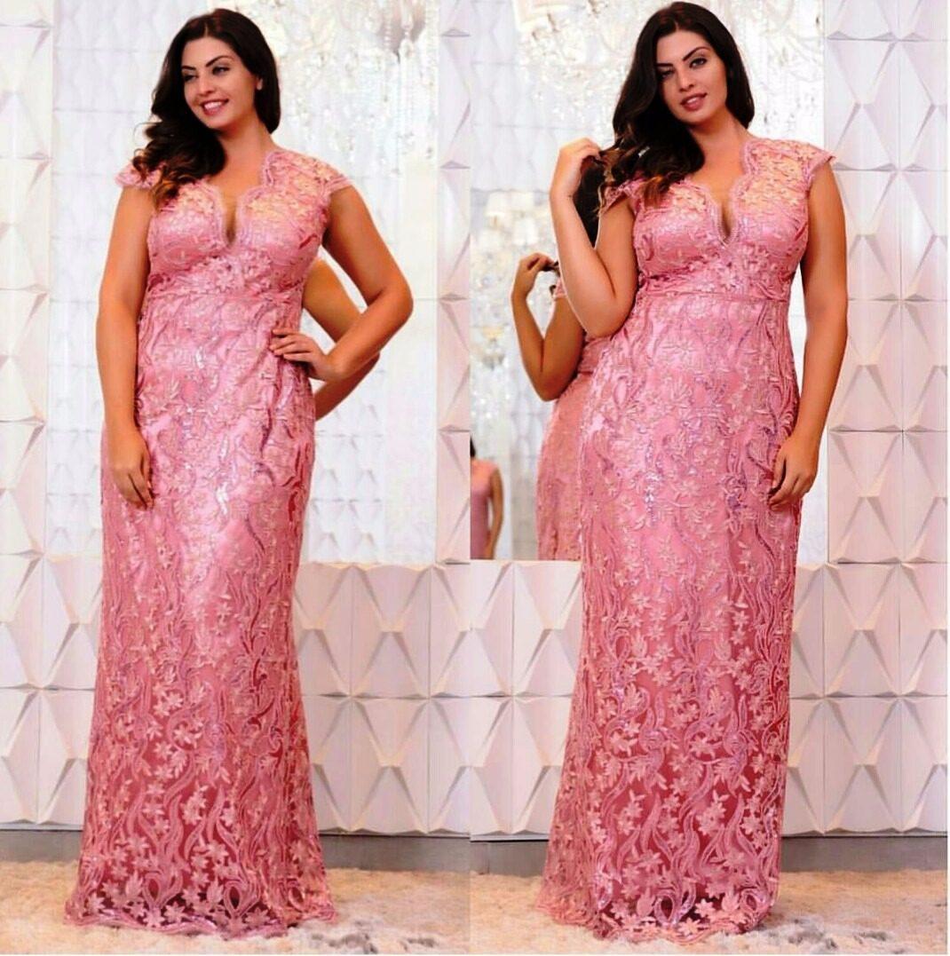 7ec66f674 vestido plus size rosa rosê/casamento/formatura/madrinha. Carregando zoom.