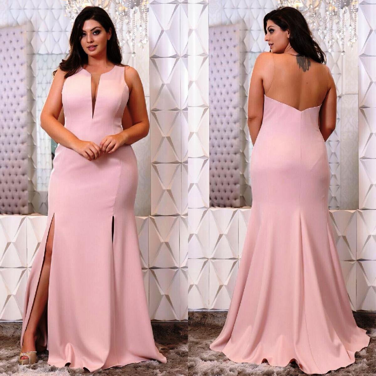 Vestido de Madrinha Plus Size - 40 modelos incríveis