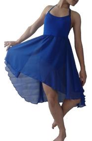779e32f67 Vestido Pollera Baile Clasico Danza Gasa Malla Inter Lycra