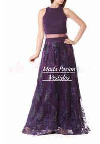 5d5a48eee Vestido Pollera Bolsillos Laterales Egresadas Moda Pasion