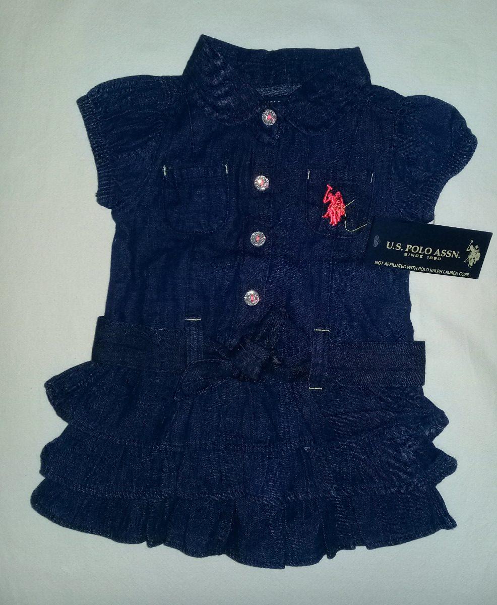 c831fa5d02 Vestido Polo Bebe Niña 100% Original 3-6 Meses - Bs. 55.000