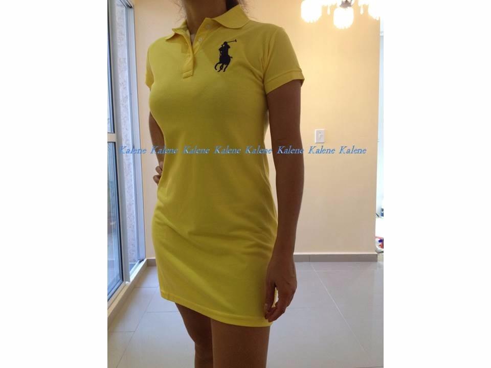 vestido polo feminino ralph lauren varias cores em promoção. Carregando  zoom. ce9cb805402
