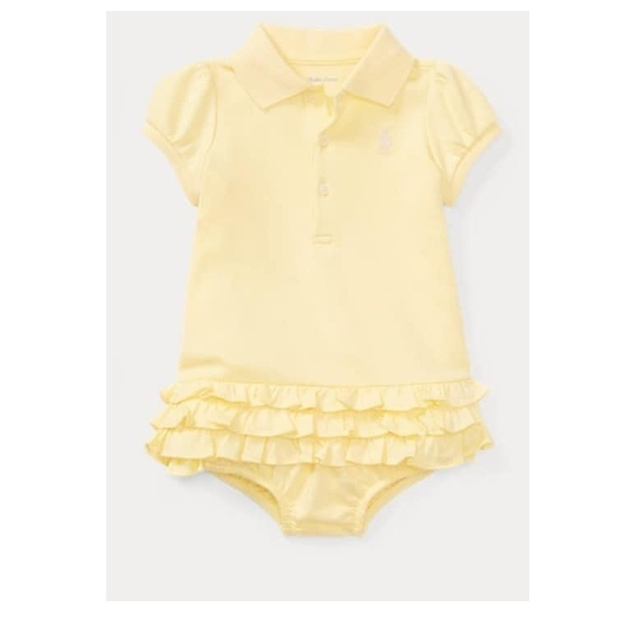 221d85be378 vestido polo ralph lauren bebe menina calcinha 3 a 18m. Carregando zoom.