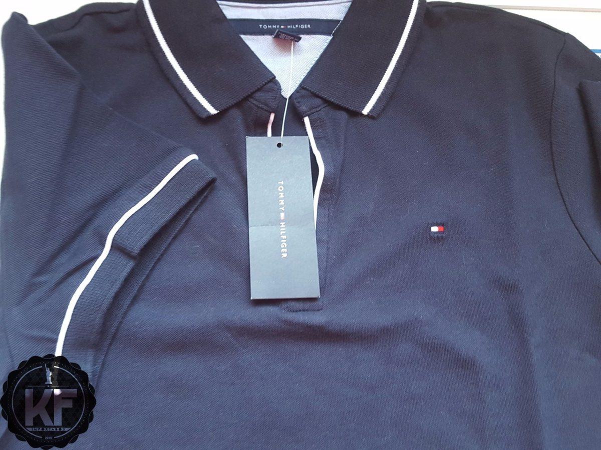 77879c005a3 vestido polo tommy hilfiger original - decote v. Carregando zoom.