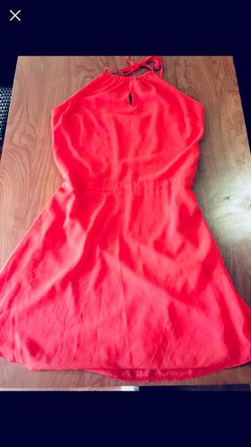 vestido precioso color sandía