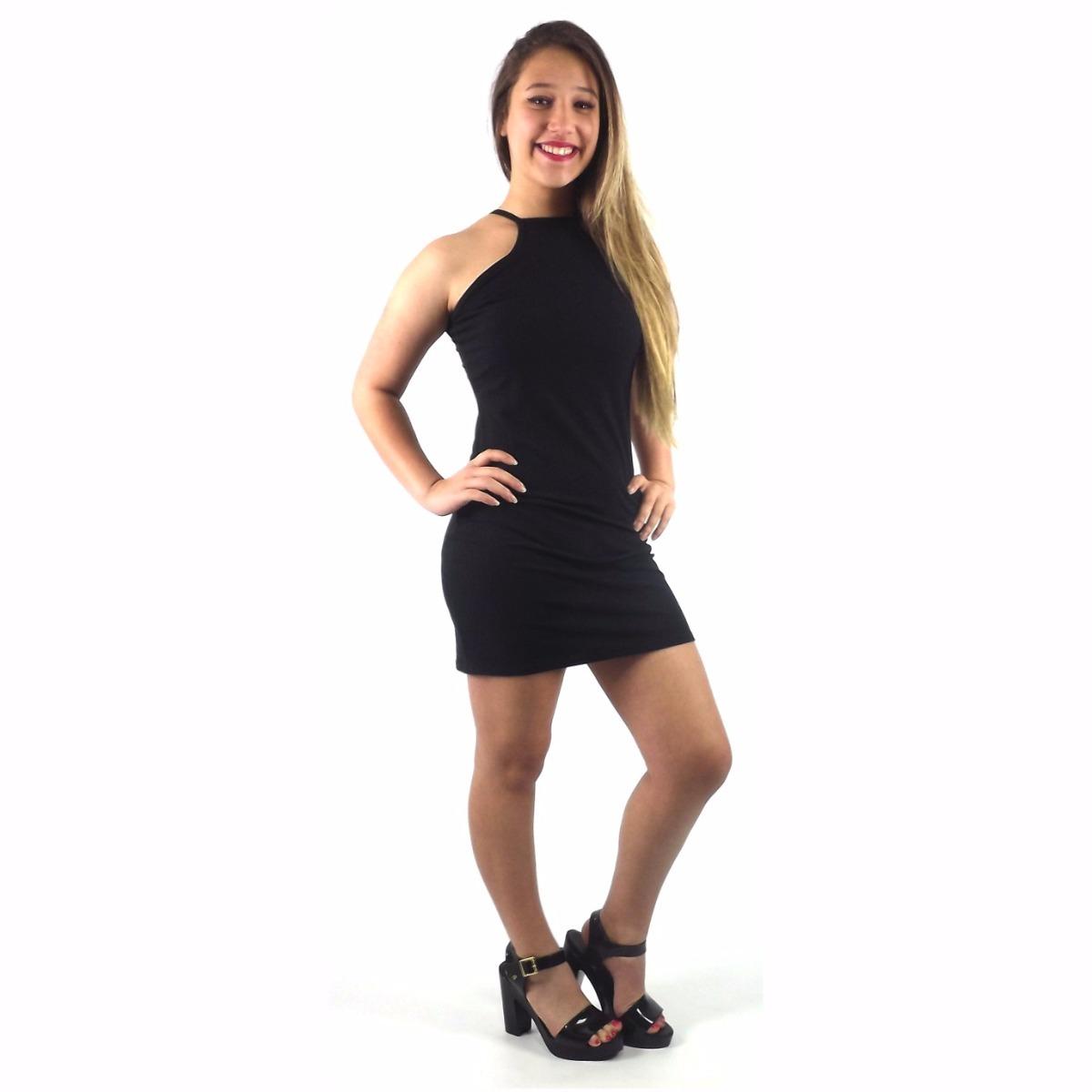 Vestido preto curto 2018