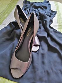 1da70e189 Sapatos Lindos Para Usar Com Vestidos Curtos Preto - Calçados ...