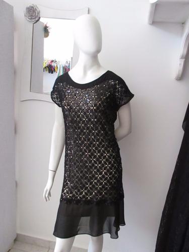 vestido preto de festa