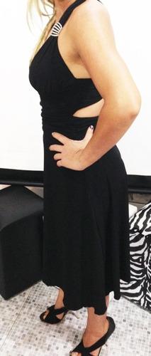 vestido preto festa yunina costa nua cor preto tam pp