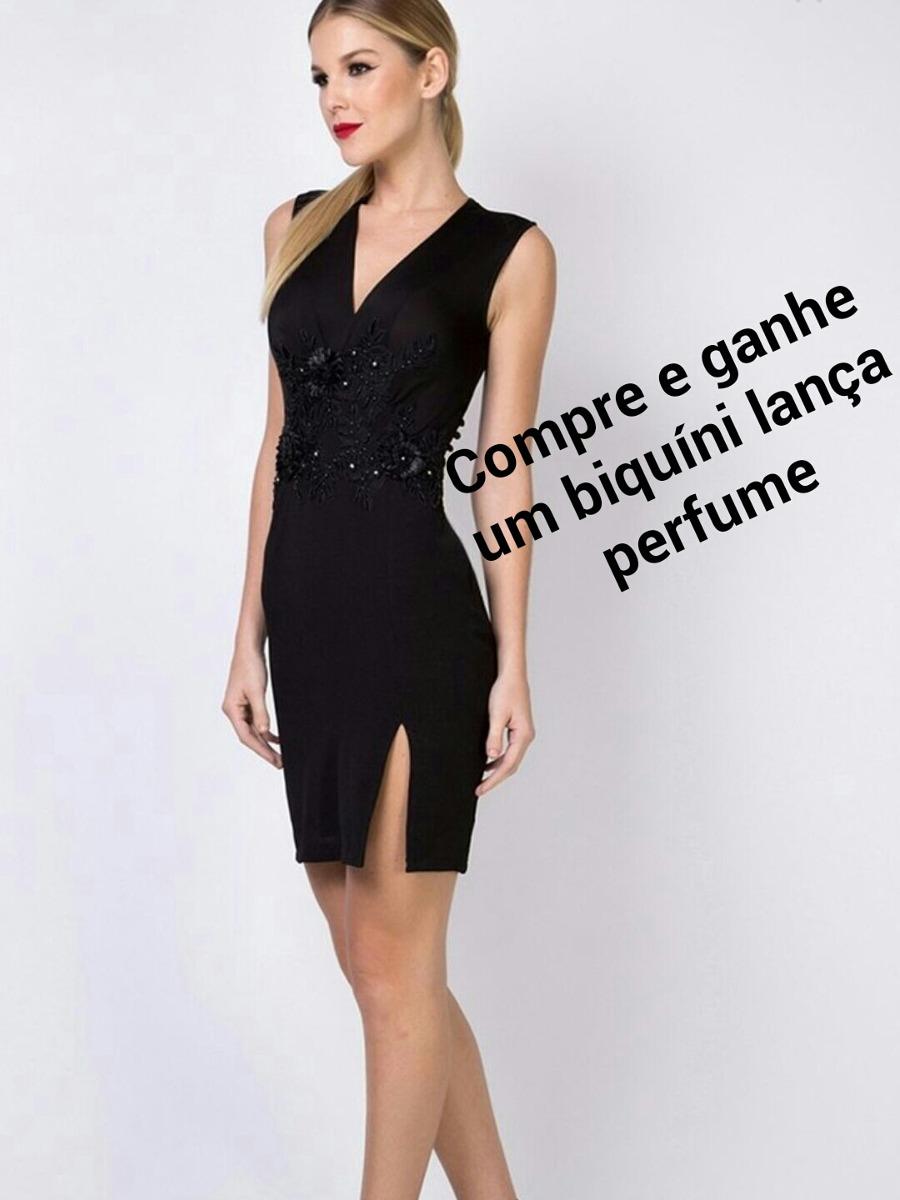 87ae09ccc9 vestido preto lança perfume. Carregando zoom.