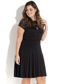 16850a62670f Vestido Sobreposição Em Renda - Vestidos Femeninos com o Melhores ...