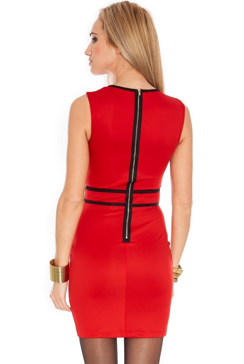 70c459d88 vestido preto vermelho justo vintage retro pronta entrega. Carregando zoom.
