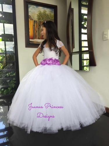 vestido primera comunión , bautizo exclusivo juanas princess