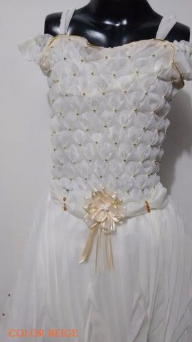 vestido primera comunion corto