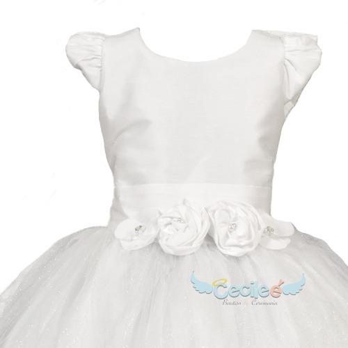 vestido primera comunion elegante de lujo niña exclusivo 089