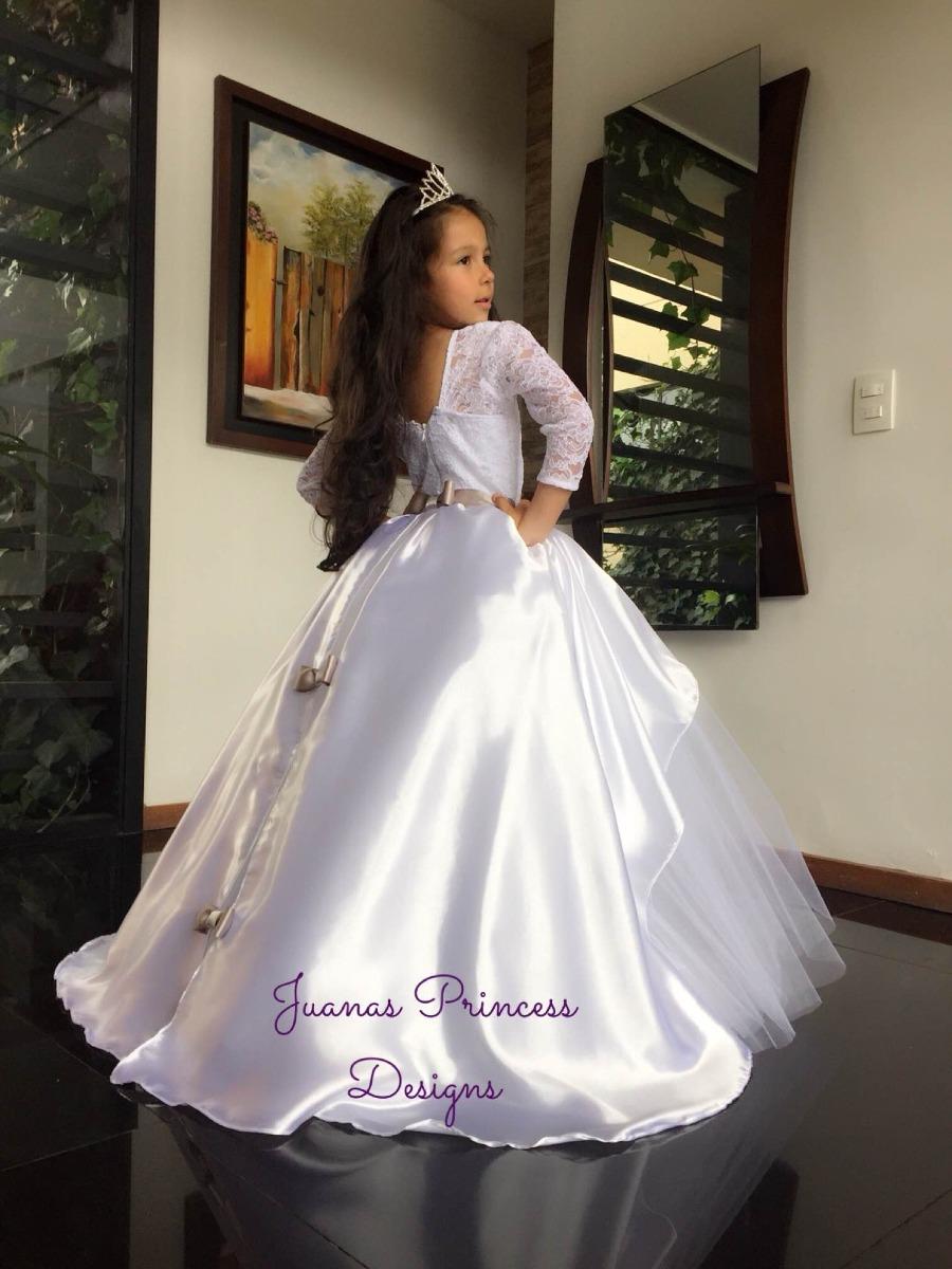 Vestido Primera Comunión , Juanas Princess -   290.000 en Mercado Libre b87d872a3f