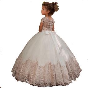 Vestido Primera Comunión Lagunilla Importado Elegante Gala