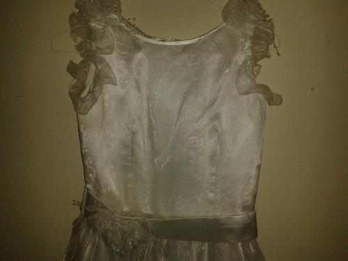 vestido primera comunion y/o pajecito.