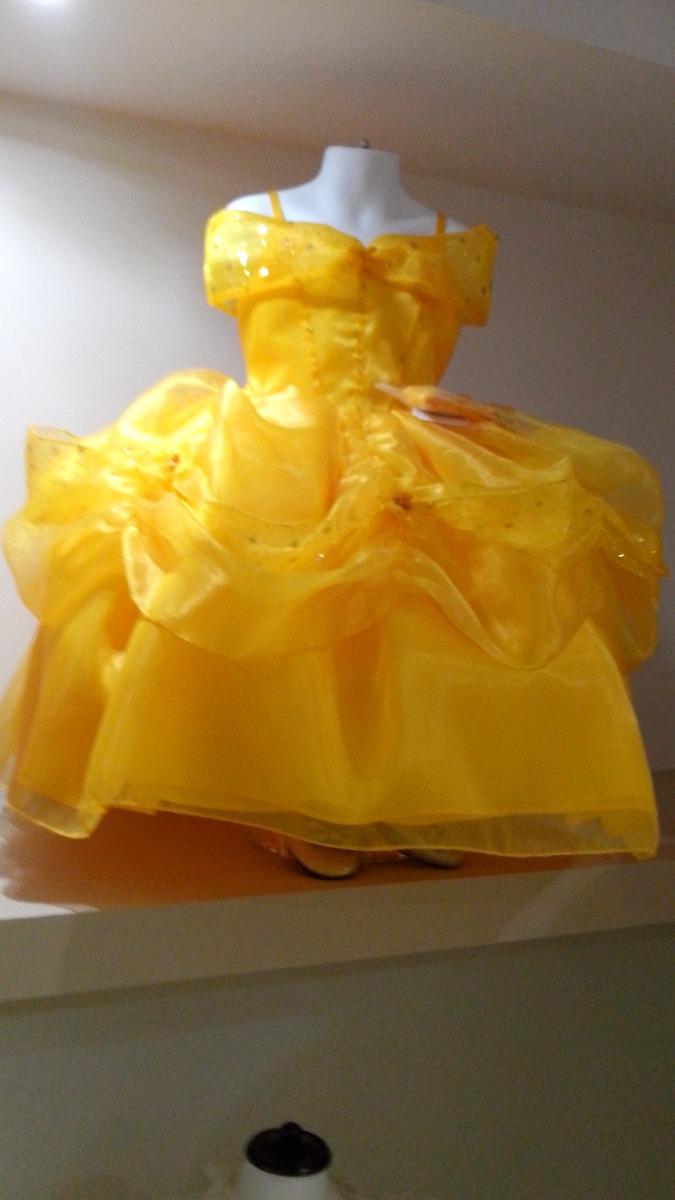 Vestido princesa bella y la bestia tela de lujo envio for Http y