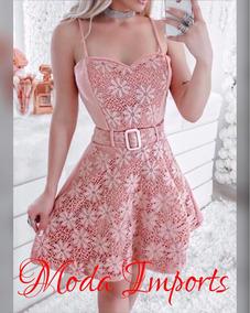 89975e69e09943 Vestidos Modelo Princesa - Vestidos Rosa Curto com o Melhores Preços ...