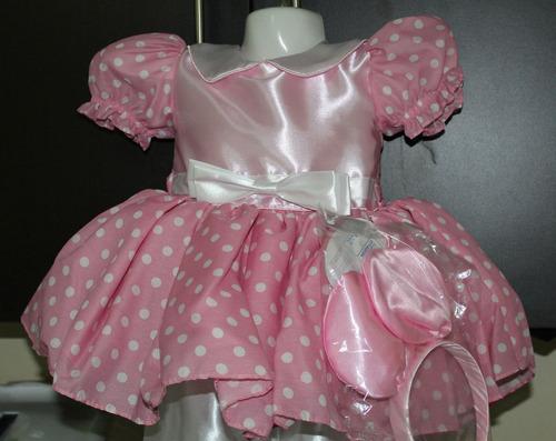 vestido princesa disfraz mimi de disney rosa talla 8 oferta