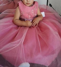 Vestido Princesa Fiesta Bebe 3 Anos Presentacion
