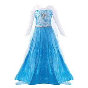 Vestido Princesa Frozen Elsa Disney Disfraz Cosplay